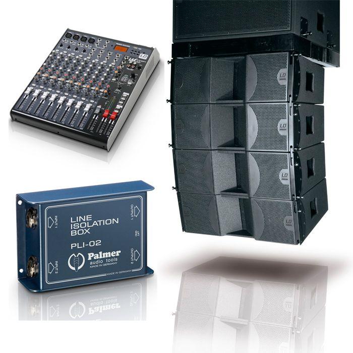 sonido para espectaculos distribuidores de material