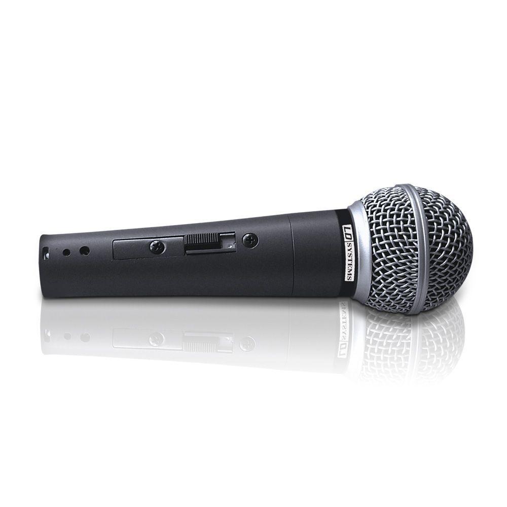 D 1006 - Micrófono dinámico vocal con Interruptor