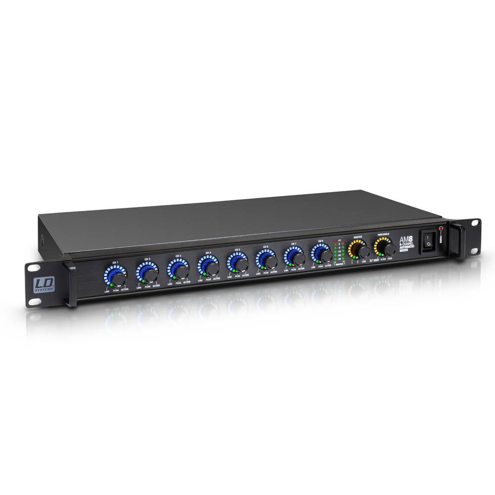 NEW AM 8 - Mezclador matricial automático de 8 canales