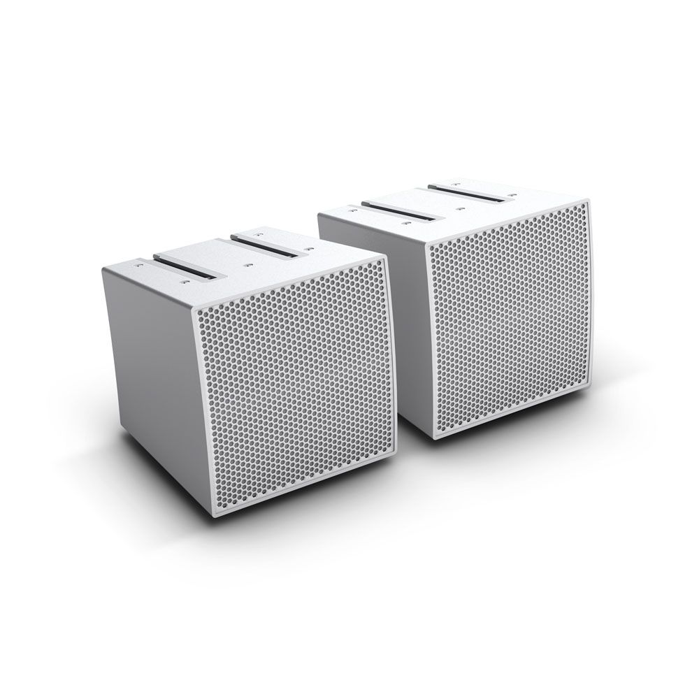 NEW CURV 500 S 2 W - 2 x Array Satellites for CURV 500 Portable Array System white