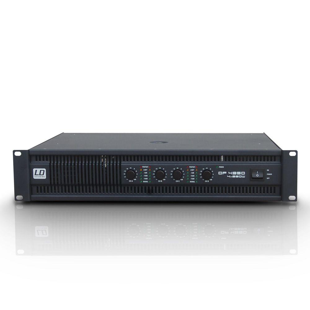 DEEP2 4950 - Amplificador de PA 4 x 810 W 4 Ohmios