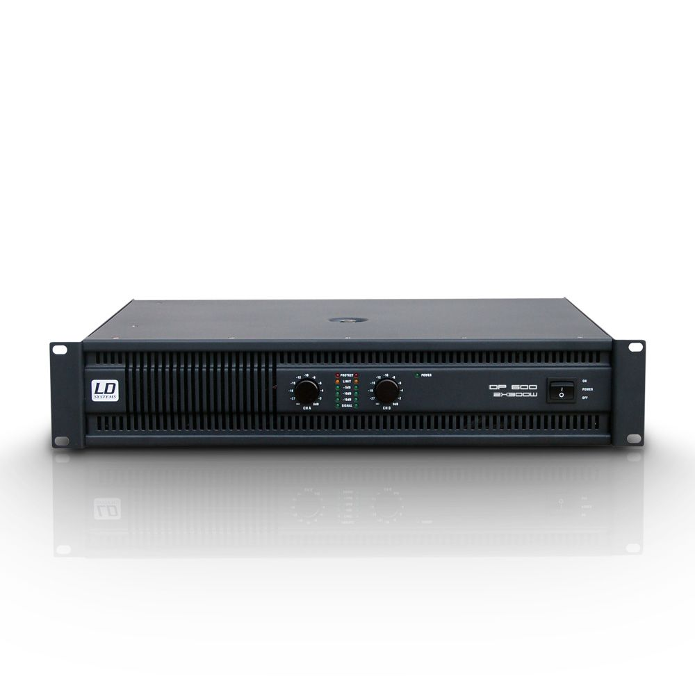 DEEP2 600 - Amplificador de PA 2 x 300 W 2 Ohmios