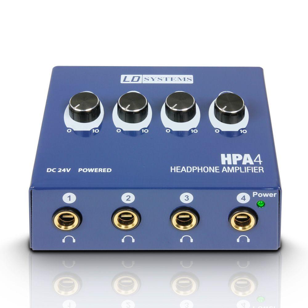 Amplificador de Auriculares 4 Canales