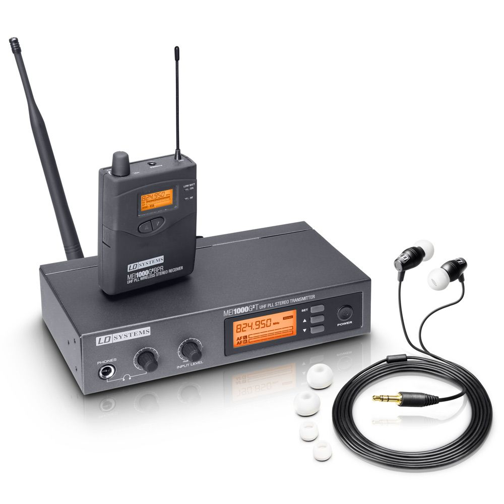 MEI 1000 G2 - Sistema de Monitoraje inalámbrico In-Ear