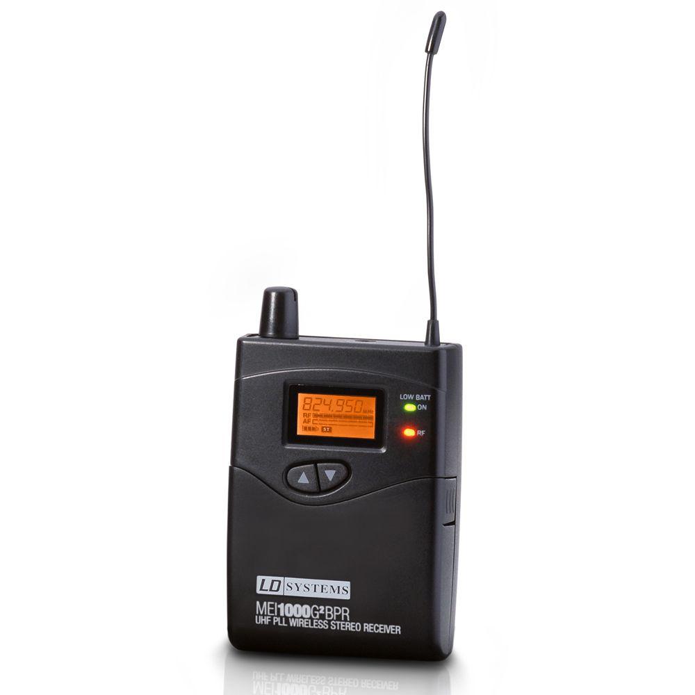 MEI 1000 G2 BPR - Receptor para Sistema de Monitoraje In-Ear LDMEI1000G2