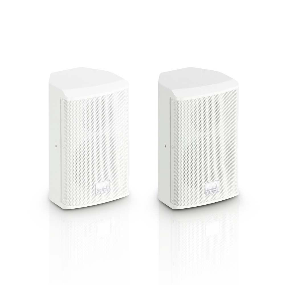 "SAT 42 G2 W - Caja acústica para instalación 4"" pasiva blanca (par)"