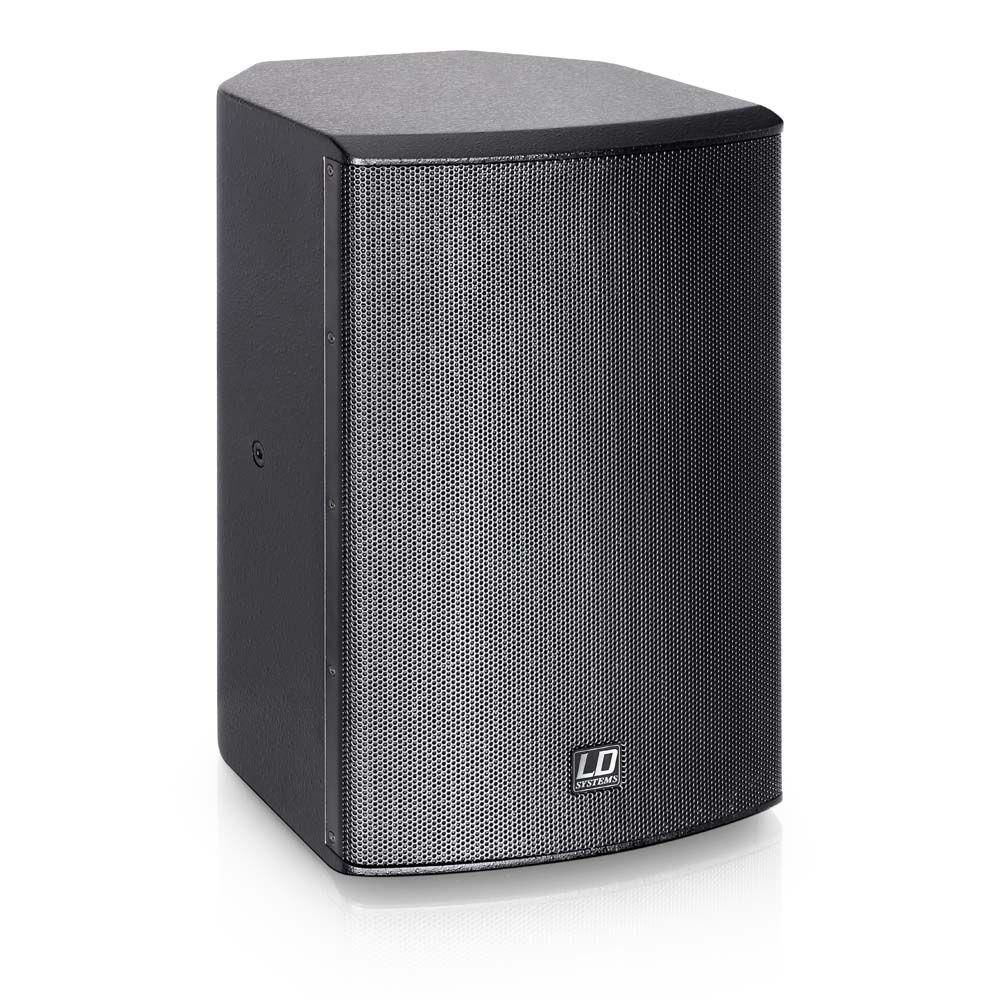 """SAT 82 A G2 - Caja acústica para instalación 8"""" activa negra"""