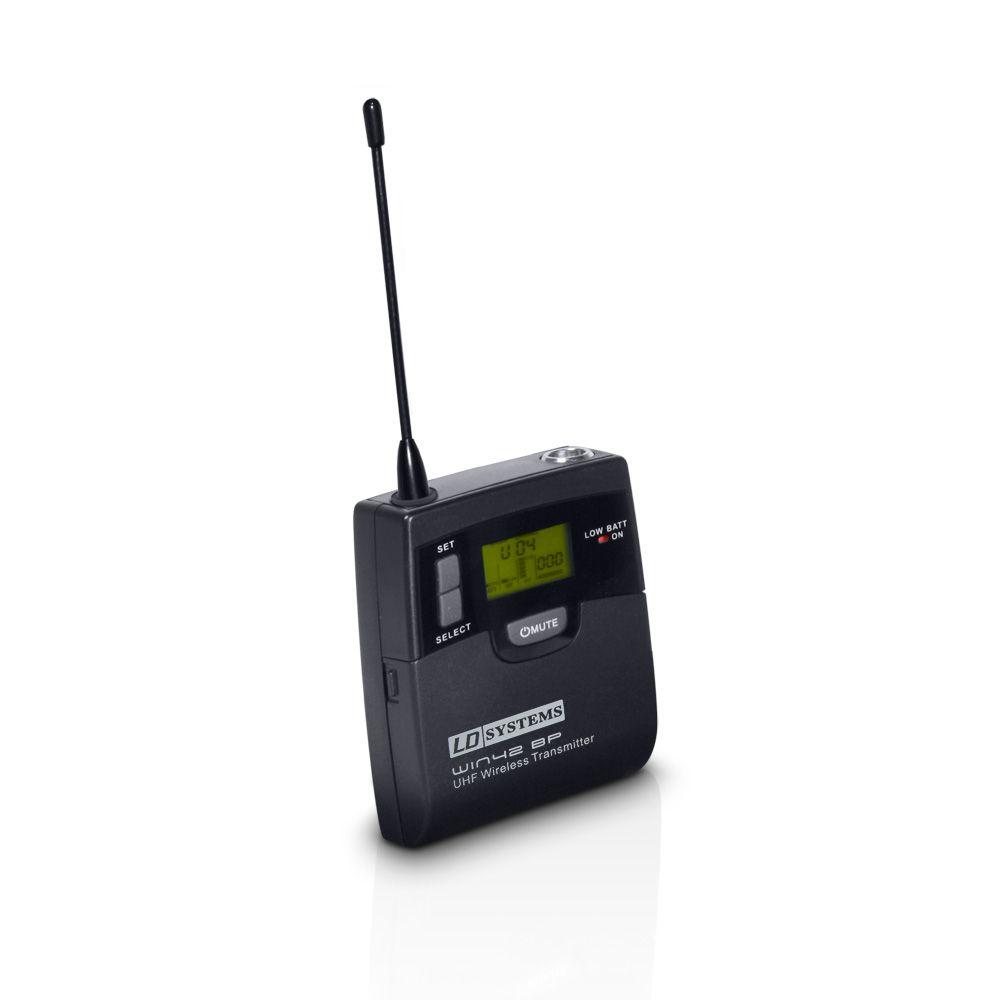 WIN 42 BP - Transmisor de petaca para Sistema inalámbrico LD WIN 42 BPH