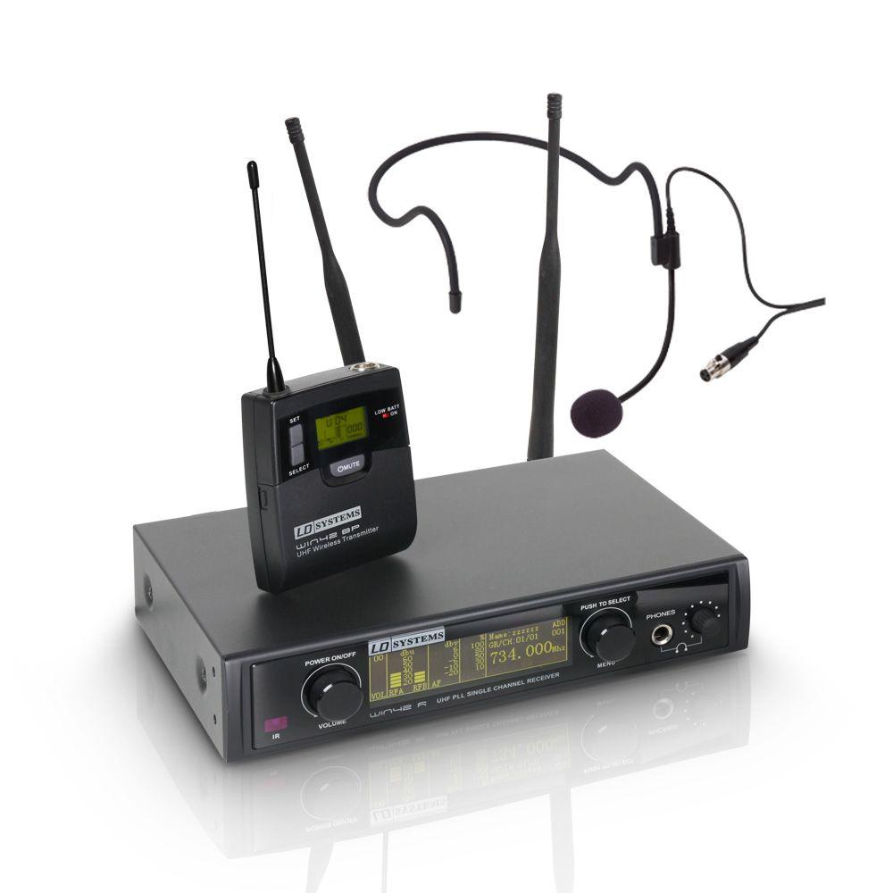 WIN 42 BPH - Sistema inalámbrico con petaca y micrófono de diadema