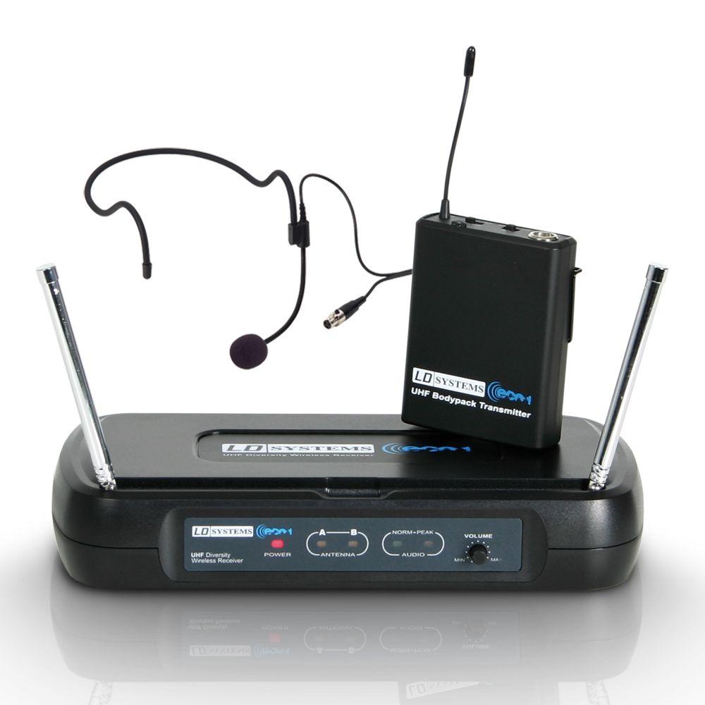 ECO 2 BPH 4 - Sistema inalámbrico con petaca y micrófono de diadema
