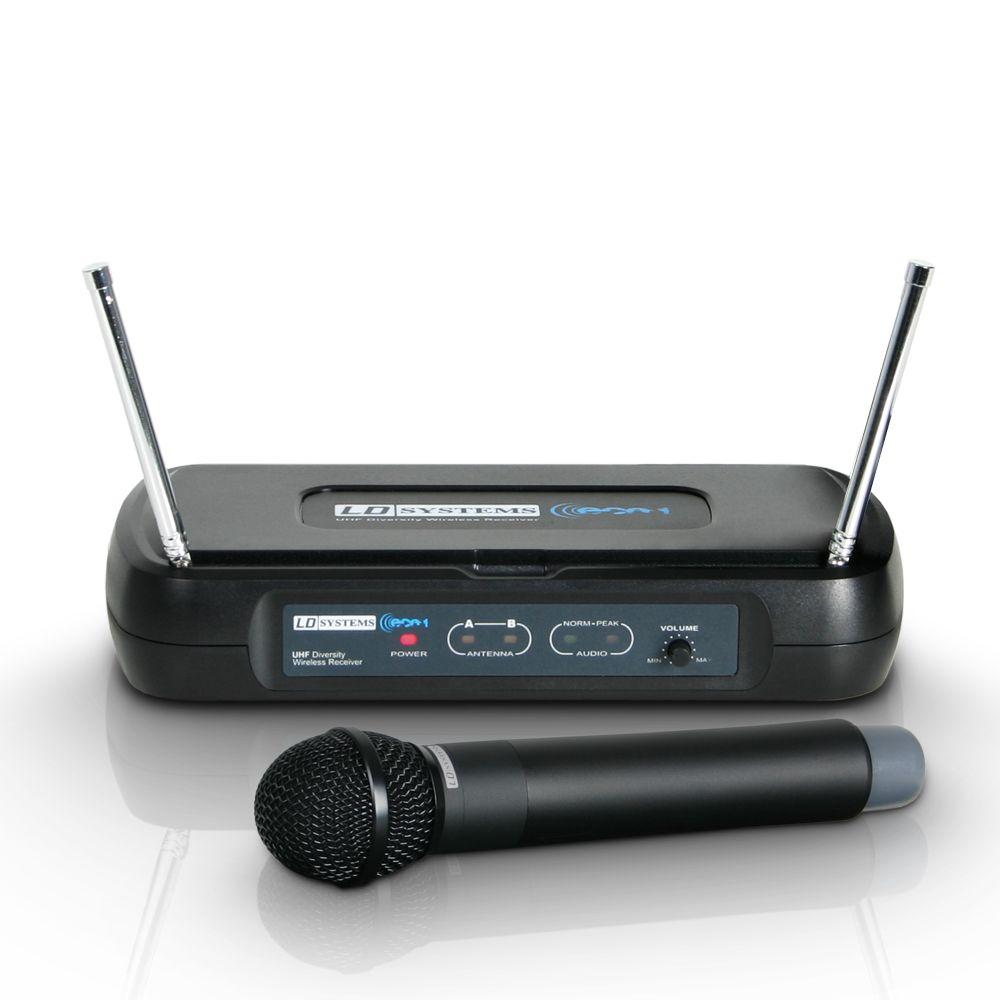 ECO 2 HHD 2 - Sistema inalámbrico con Micrófono de Mano dinámico