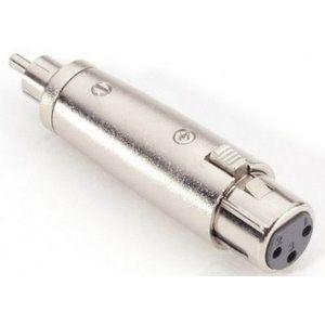 7868 - Adaptador de XLR hembra a RCA macho