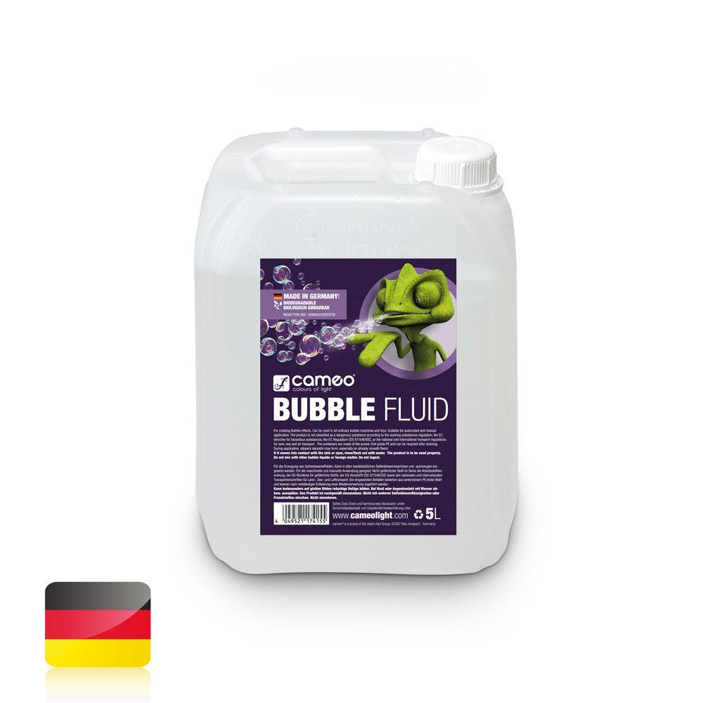 BUBBLE FLUID 5L - Líquido especial para la creación de pompas de jabón - 5 l