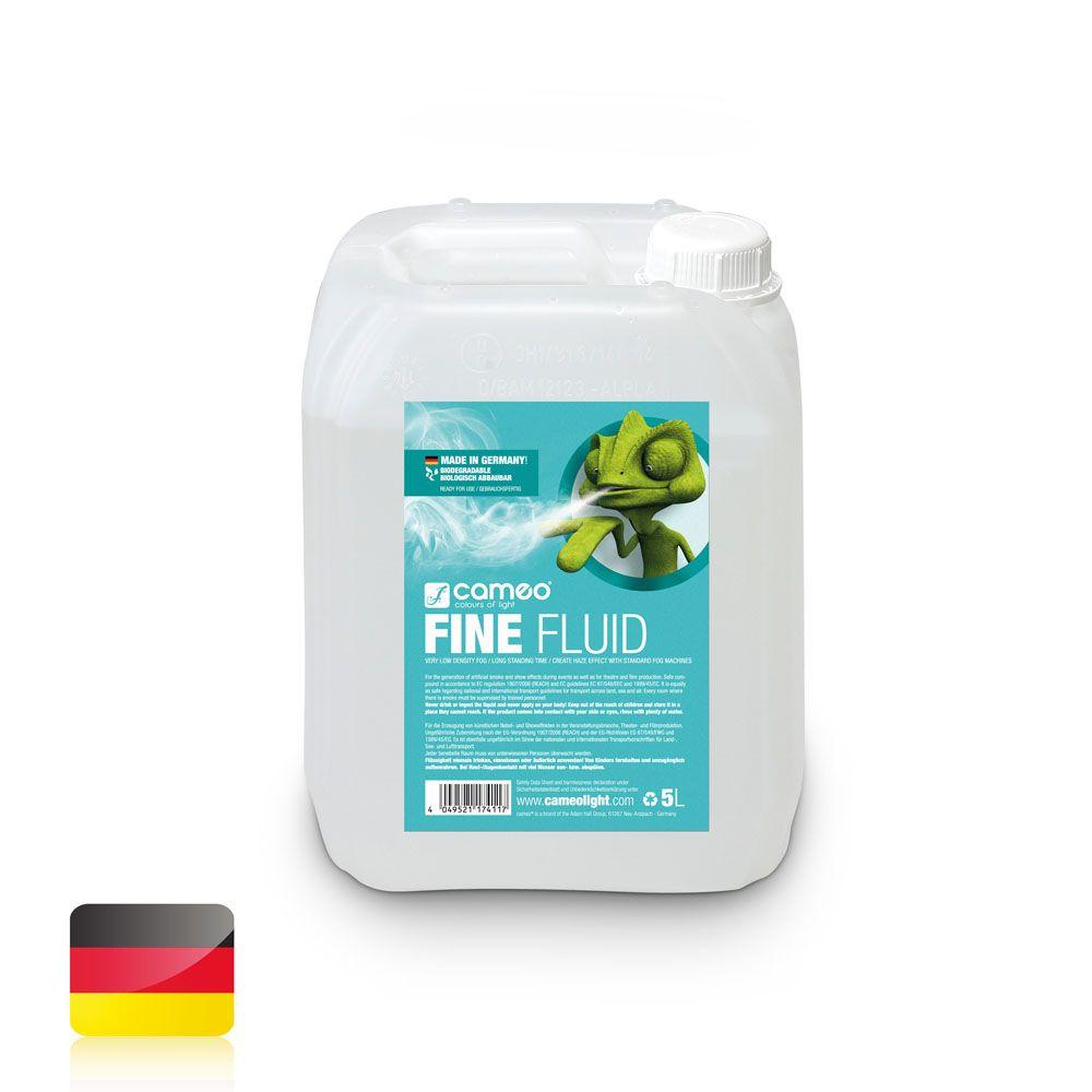 FINE FLUID 5L - Líquido de niebla de efecto neblina de densidad muy baja y efecto de muy larga duración - 5 l