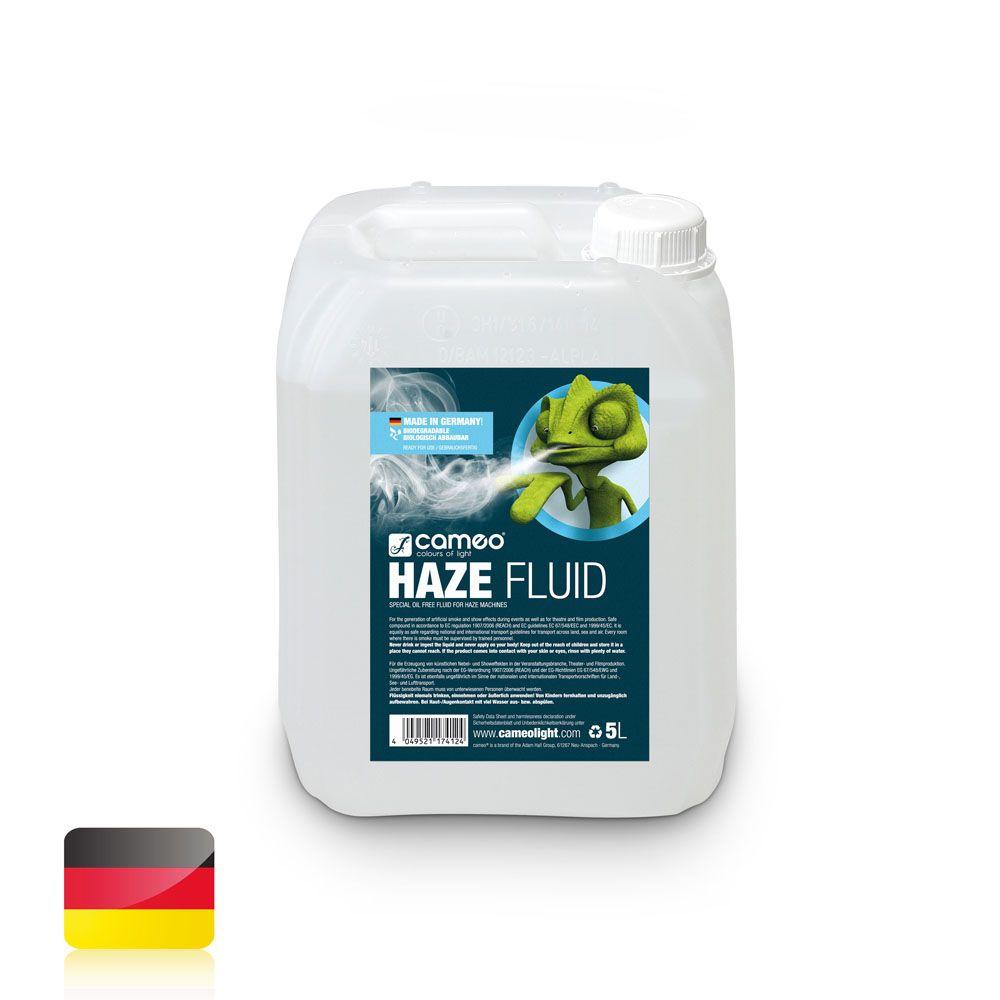 HAZE FLUID 5L - Líquido de neblina de larga duración, sin aceite - 5 l