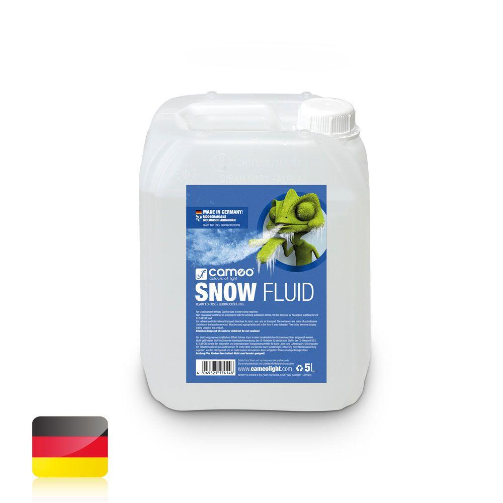 SNOW FLUID 5L - Líquido especial para creación de espuma en máquinas de nieve - 5 l