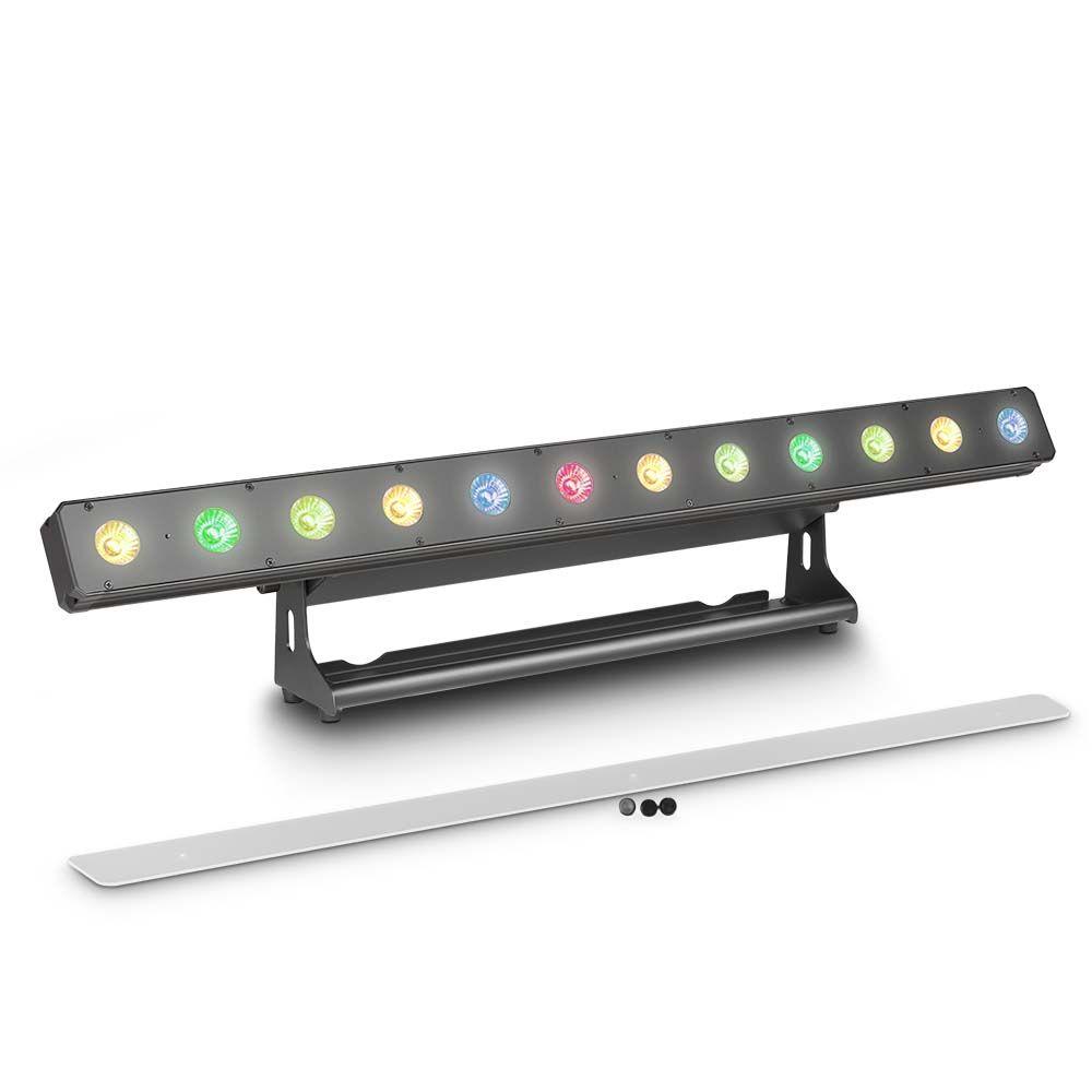 NEW PIXBAR 400 PRO - Barra de LEDs profesional 12 x 8 W RGBW