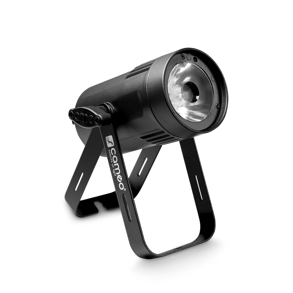Cameo Q-Spot 15 RGBW - Compact Spot Light With 15W RGBW LED In Black Housing