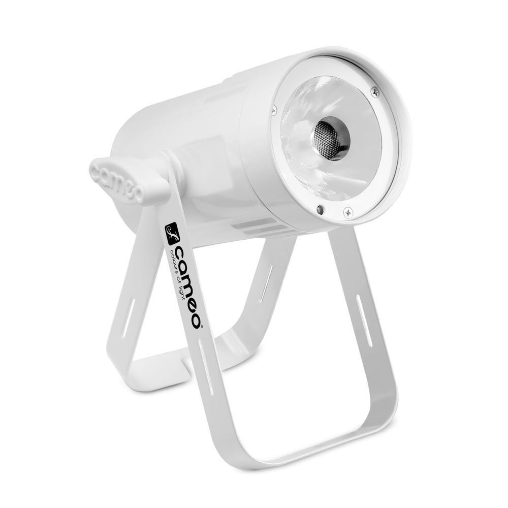 Cameo Q-Spot 15 RGBW WH - Compact Spot Light With 15W RGBW LED In White Housing