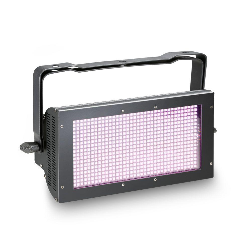 NEW THUNDER WASH 600 RGB - Estrobo, cegadora y washer 3 en 1 con 648 x 0,2 W RGB