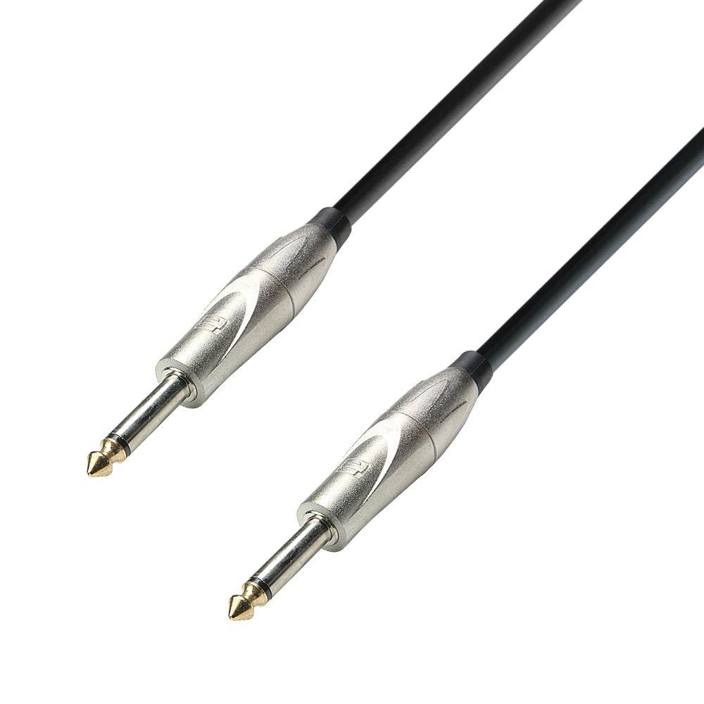 K3 IPP 0600 - Cable de Instrumento de Jack 6,3 mm mono a Jack 6,3 mm mono 6 m