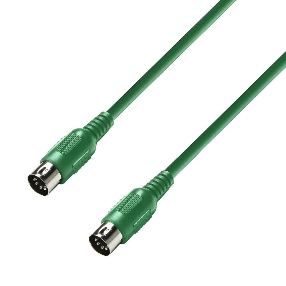 K3 MIDI 0600 GRN - Cable MIDI 6 m verde
