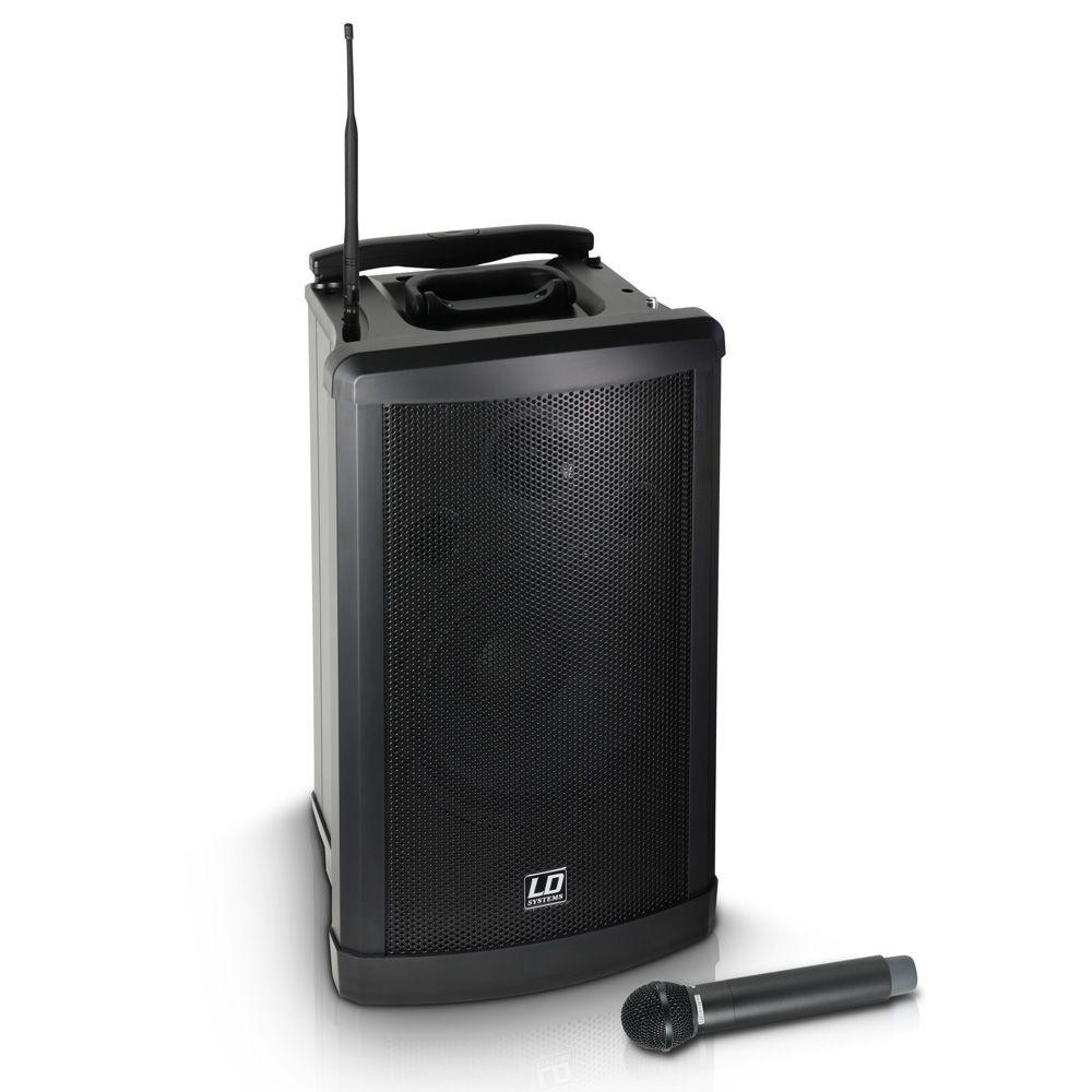 El LD Systems Roadman 102 B5 es un sistema de sonido móvil y compacto