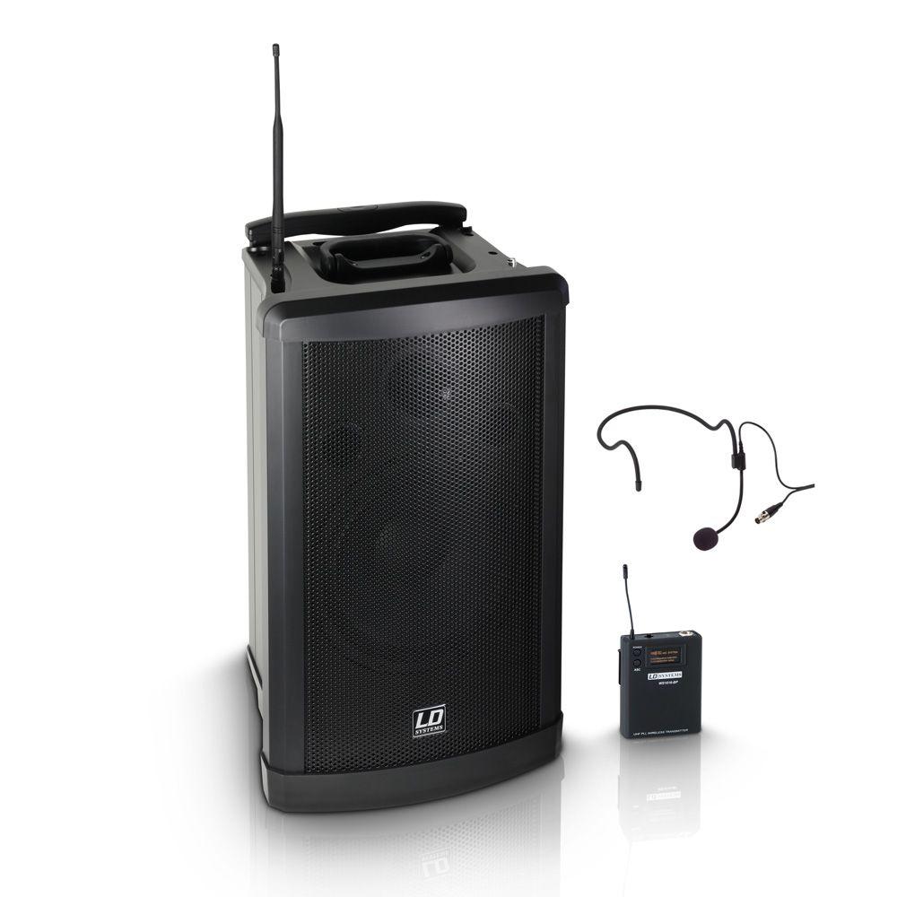 El LD Systems SA Roadman 102 B6 es un sistema de sonido móvil y compacto