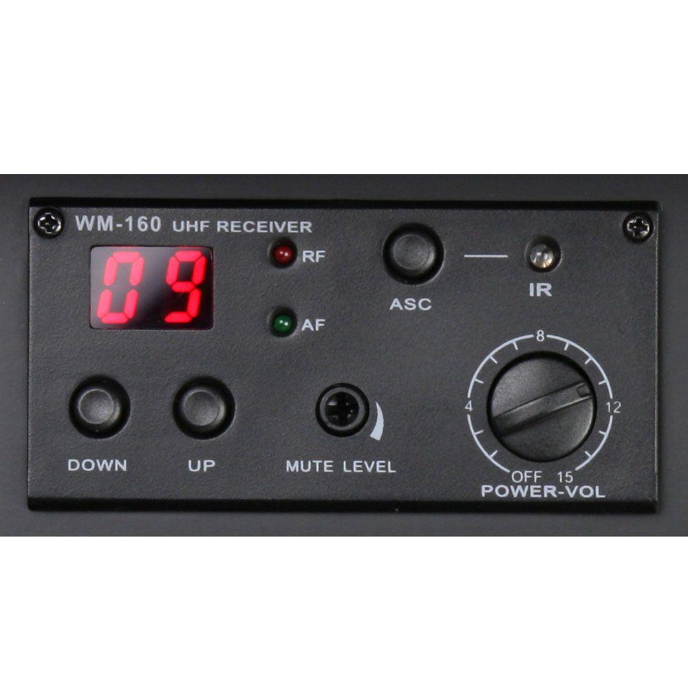 LD Systems RM102 R B5 - UHF Módulo Receptor para Roadman, Roadboy y Roadbuddy