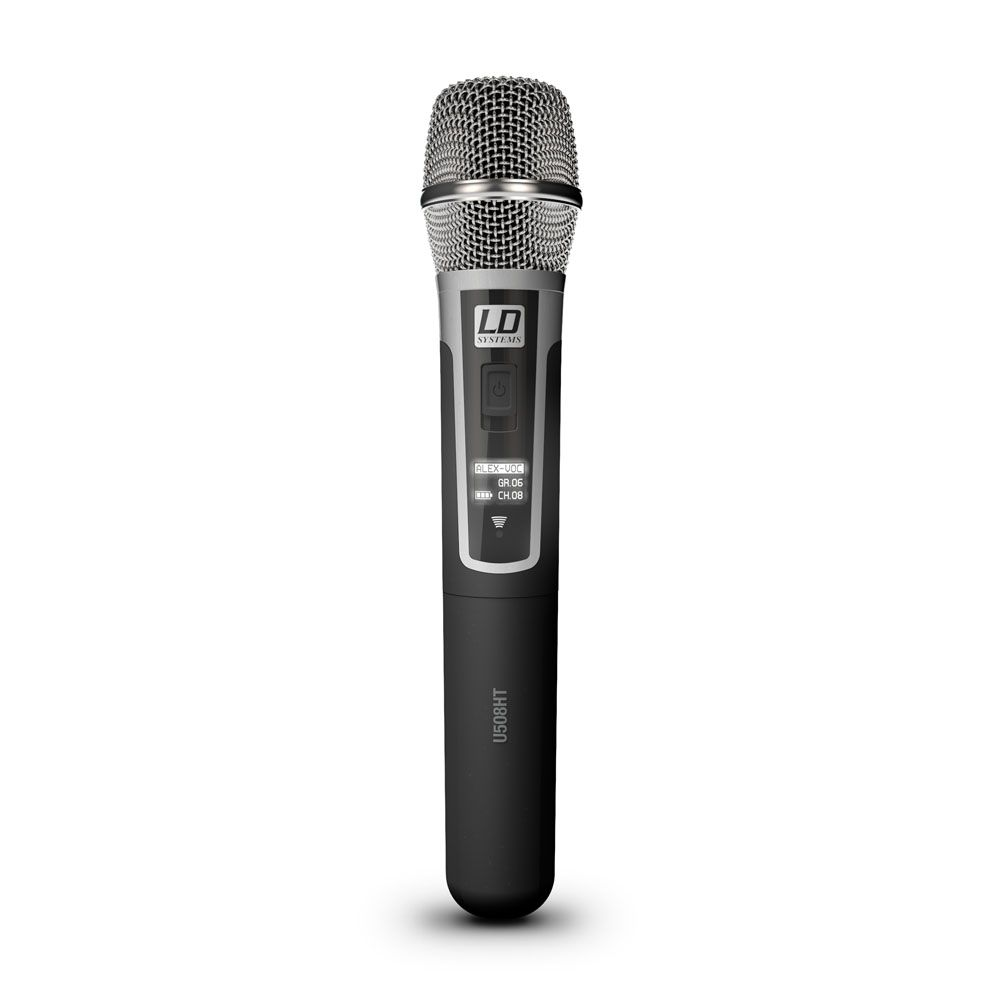 LD Systems U508 MC - Micrófono de mano de condensador
