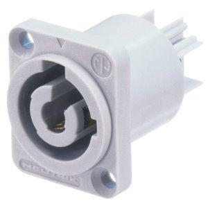 NAC 3 MPB - Conector Chasis PowerCon gris