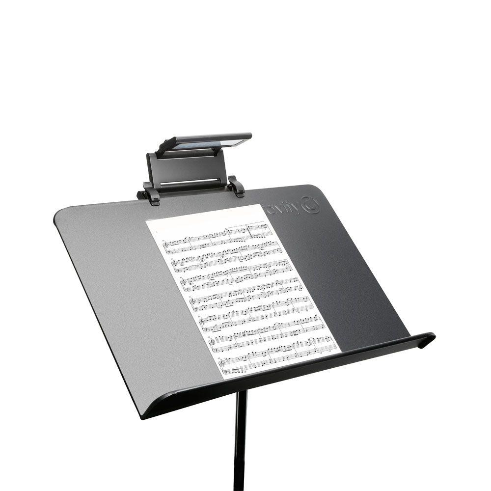 Adam Hall Soportes de SLED 24 PRO - Música plegable LED luz del soporte
