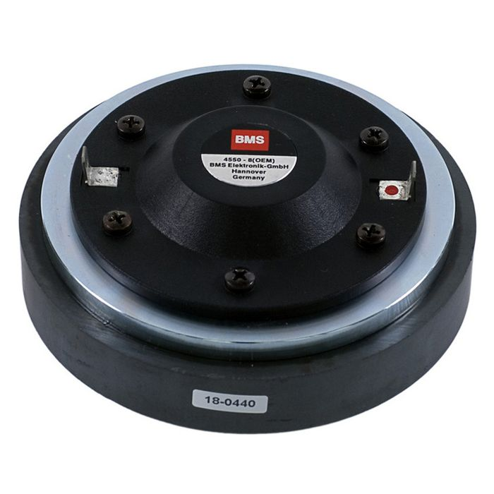 """BMS PA - Speaker - BMS 4550 - 1 """"conductor de alta frecuencia 80 W 8 Ohm."""