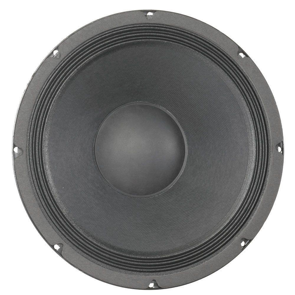 """KAPPA-12A de la serie American Standard Recomendado para audio profesional como una gama alta o total / medio en un recinto ventilado. ESPECIFICACIÓN Diámetro nominal de la cesta 12 """", 304,8 mm La impedancia nominal de 8 ohmios Watts de potencia de 450 W / 900 W Programa de Música Resonancia 45 Hz Gama de frecuencias utilizable 62 Hz - 4.2 kHz sensibilidad 99,3 Imán Peso 80 oz Altura Gap 0.375 """", 9.53 mm Diámetro de la bobina móvil de 3 """", 76,2 mm"""