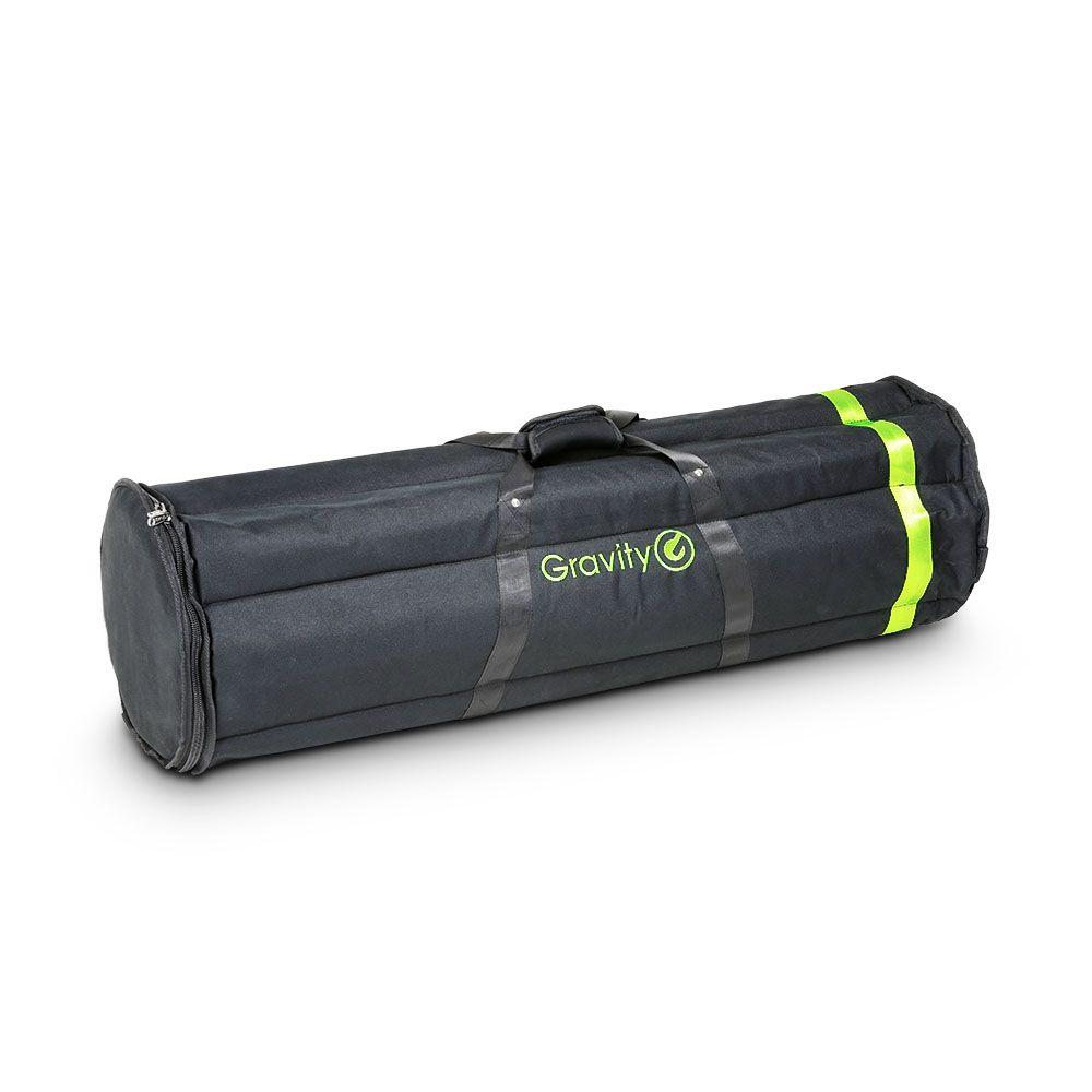 La gravedad BGMS 6 B - Bolsa de transporte para 6 soportes de micrófono