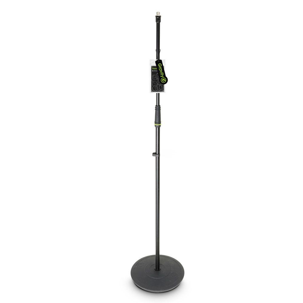 El Gravity MS 23 - Soporte de Micrófono con base redonda