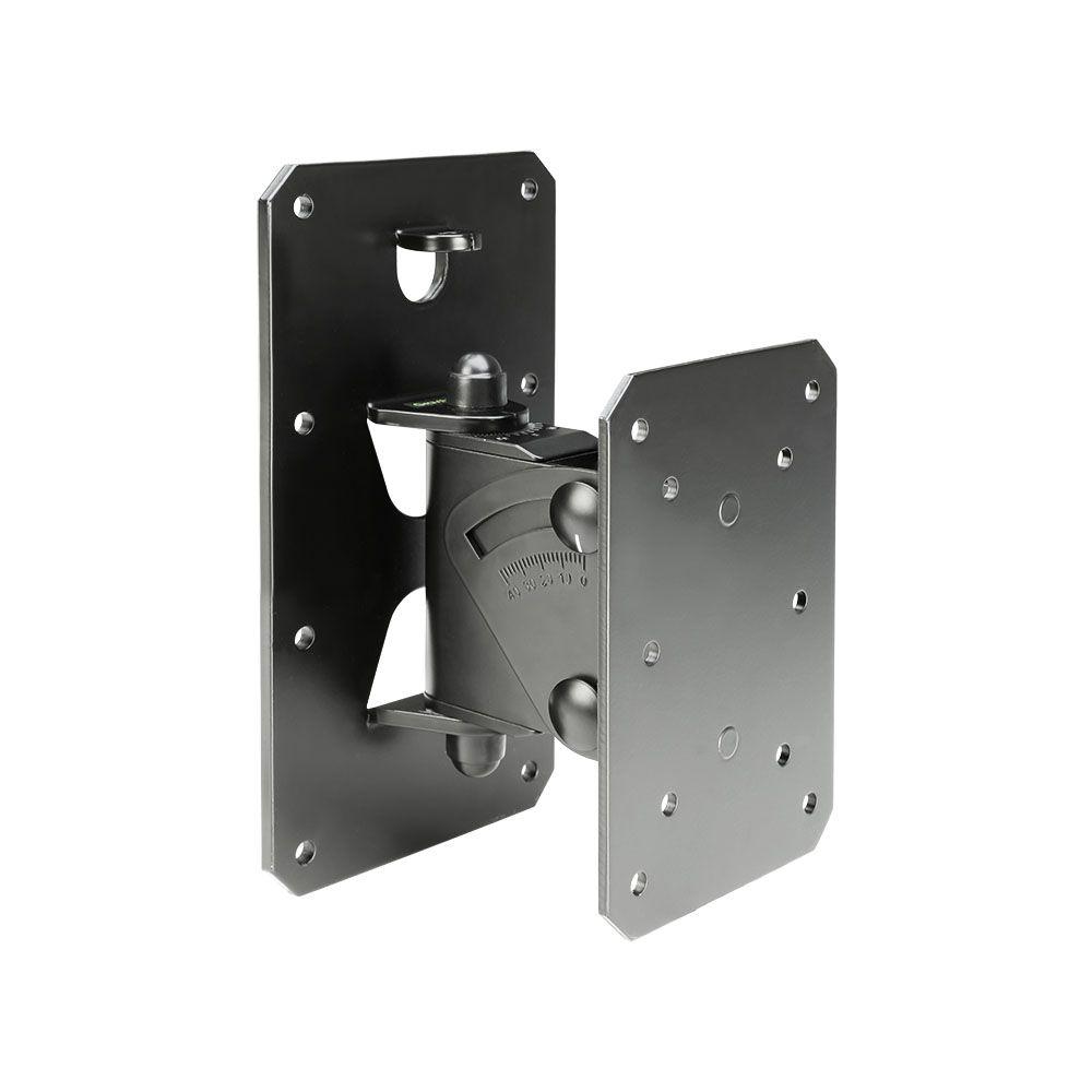 Gravity SP WMBS 30 B - inclinable y giratorio Soporte de pared para altavoces de hasta 30 kg, negro