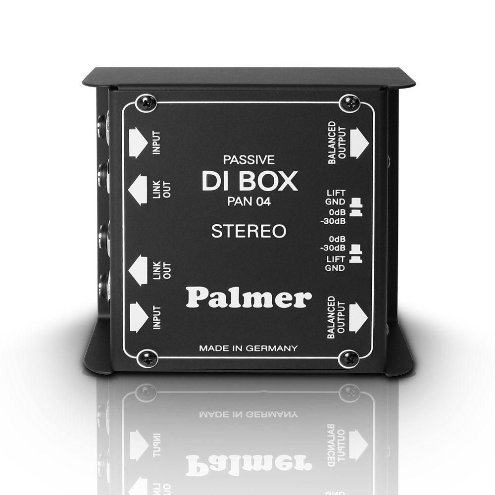 Palmer PAN Pro 04 - Caja DI pasiva de 2 canales