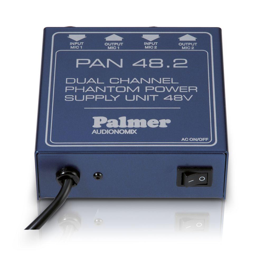 Palmer PAN Pro 48 - Fuente de alimentación Phantom de 2 canales
