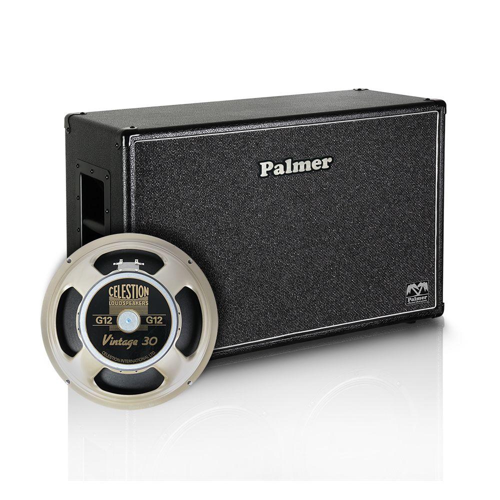 "Palmer MI CAB 212 V30 OB - Guitarra Gabinete de 2 x 12 ""con Celestion Vintage 30 8/16 Ohm espalda abierta"