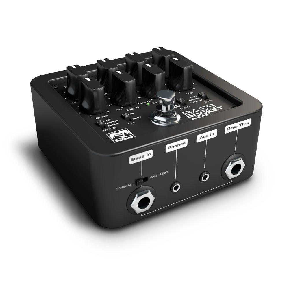 Palmer MI BOLSILLO amplificador de bajo - preamplificador portátil para guitarras bajas