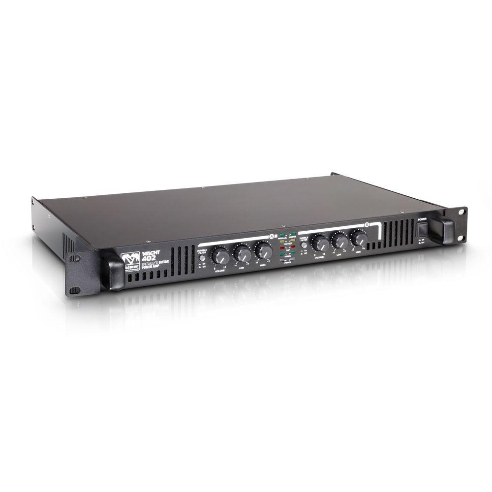 """Palmer Amplificadores - Palmer MI MACHT 402 - 19 """"Amplificador de potencia estéreo para Guitarra"""