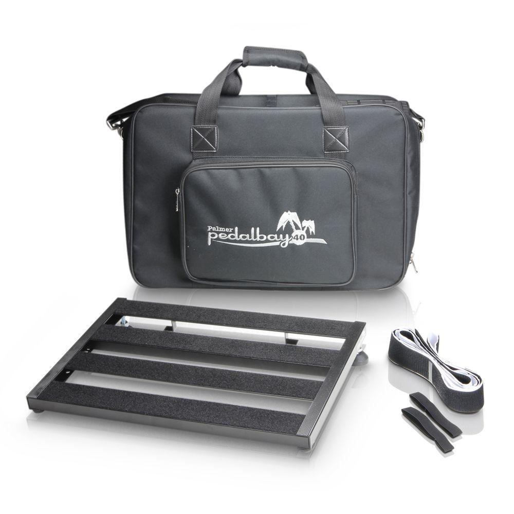 Palmer MI PEDALBAY 40 - pedalera variable de peso ligero con Softcase protector 45cm