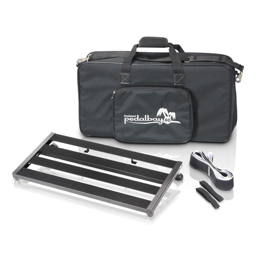 Palmer MI PEDALBAY 60 - pedalera variable de peso ligero con Softcase protector 60cm