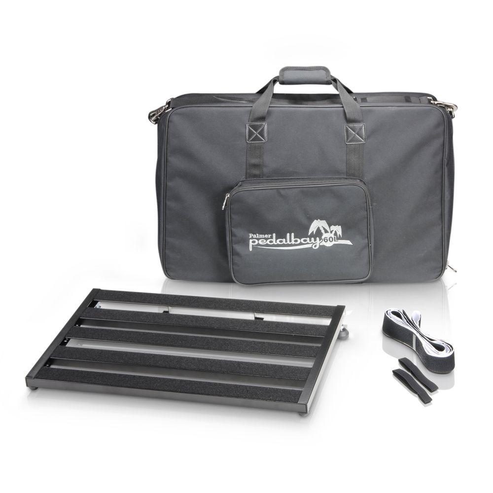 Palmer MI PEDALBAY 60 L - pedalera variable de peso ligero con protección Softcase 60cm