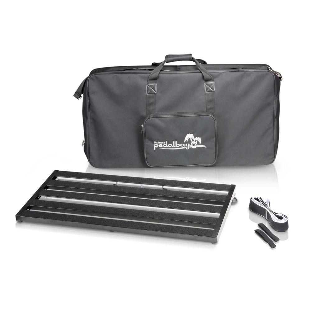 Palmer MI PEDALBAY 80 - pedalera variable de peso ligero con Softcase protector 80cm