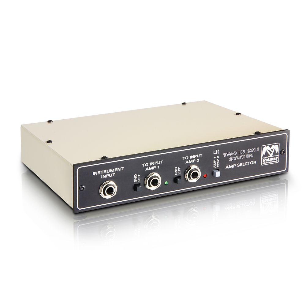 Palmer MI SISTEMA DE TINO - Sistema de Conmutación de 2 amplificadores de guitarra a 1 armario con entrada remota