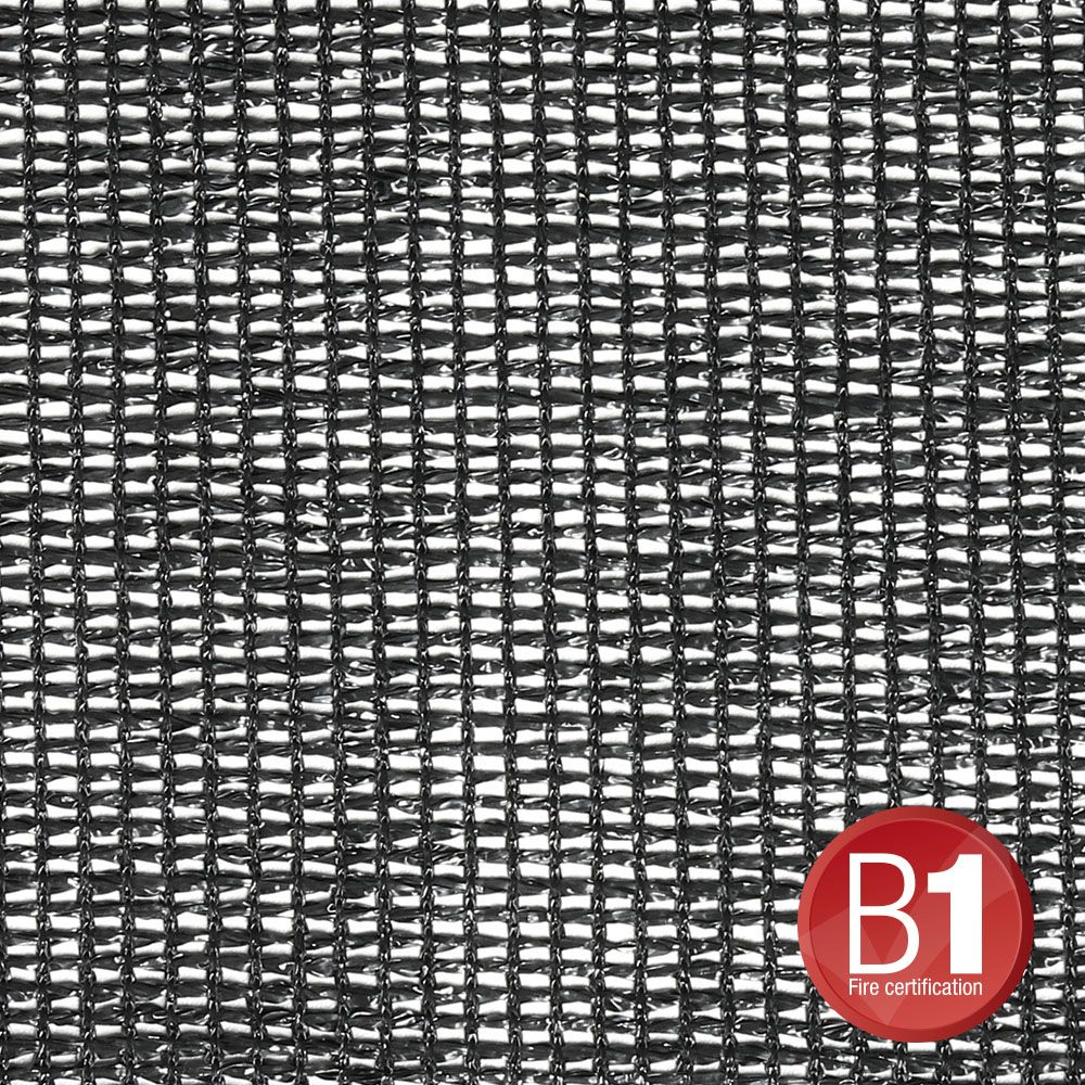 Adam Hall Accesorios 0157 X 56 B - gasa, tela 202 5x6m con ojales, negro