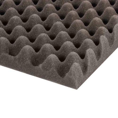 Adam Hall Hardware 019430 - Eggbox espuma gris de 30 mm