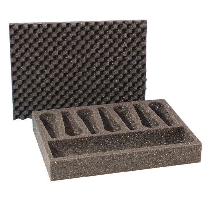 Adam Hall Hardware 2806 - tira de espuma durante 7 Micrófonos